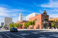 Architectuur van Los Angeles, Californië, de V.S. Stock Foto's