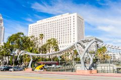 Architectuur van Los Angeles, Californië, de V.S. Royalty-vrije Stock Foto