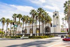 Architectuur van Los Angeles, Californië, de V.S. Royalty-vrije Stock Afbeeldingen