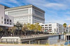 Architectuur van Los Angeles, Californië, de V.S. Stock Foto