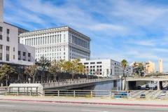 Architectuur van Los Angeles, Californië, de V.S. Stock Afbeeldingen