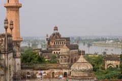 Architectuur van Lucknow, India Royalty-vrije Stock Afbeeldingen