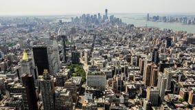 Architectuur van Manhattan Royalty-vrije Stock Afbeelding