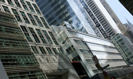 Architectuur van Manhattan Royalty-vrije Stock Foto