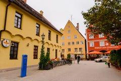 Architectuur van Memmingen Royalty-vrije Stock Foto