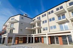 Architectuur van moderne flats Royalty-vrije Stock Fotografie
