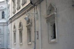 Architectuur van Moskou het Kremlin Kleurenfoto Royalty-vrije Stock Afbeelding