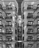 Architectuur van New York Stock Afbeeldingen