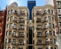 Architectuur van New York Stock Foto