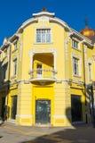 Architectuur van oude Bourgas in Bulgarije Royalty-vrije Stock Foto's