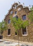 Architectuur van Park Guell Royalty-vrije Stock Afbeeldingen