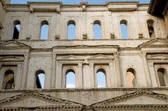 Architectuur van portaborsari Stock Foto