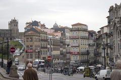 Architectuur van Porto, Kasteel Porto Royalty-vrije Stock Afbeeldingen