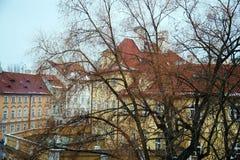 Architectuur van Praag Stock Afbeeldingen