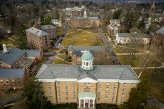 Architectuur van Princeton royalty-vrije stock afbeelding