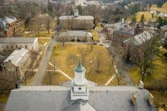 Architectuur van Princeton royalty-vrije stock afbeeldingen
