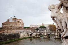 Architectuur van Rome Stock Afbeelding