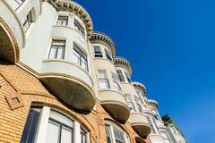 Architectuur van San Francisco, Californië Royalty-vrije Stock Afbeeldingen