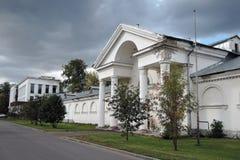 Architectuur van VDNH-park in Moskou Stock Afbeelding