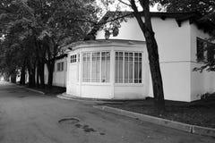Architectuur van VDNKH-park in Moskou Royalty-vrije Stock Fotografie
