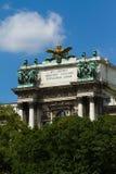 Architectuur van Wenen stock foto