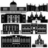 Architectuur van wereld-2 Stock Afbeeldingen