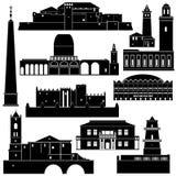 Architectuur van wereld-5 Royalty-vrije Stock Afbeeldingen