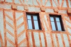 Architectuur van Westelijk Frankrijk Stock Afbeeldingen