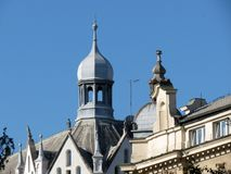 Architectuur van Zagreb royalty-vrije stock foto's