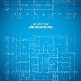 Architectuurachtergrond Stock Afbeelding