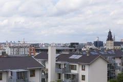Architectuurmening van de stad van Brussel stock afbeelding