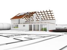 Architectuurmodel Stock Foto's