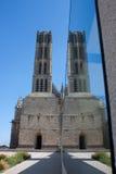Architectuursymmetrie in Limoges Stock Afbeeldingen