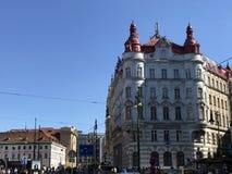 Architecure στην Πράγα Στοκ φωτογραφία με δικαίωμα ελεύθερης χρήσης