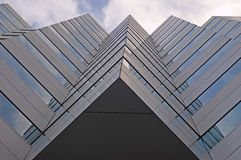 architecure som bygger det geometriska kontoret Royaltyfria Foton