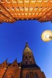 Architecutre του Αμβούργο Στοκ Εικόνα