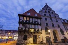 Architecutre of Braunschweig Stock Images