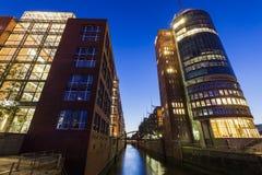 Architecutre Speicherstadt στο Αμβούργο Στοκ φωτογραφία με δικαίωμα ελεύθερης χρήσης