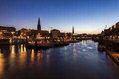 Architecutre Speicherstadt στο Αμβούργο Στοκ Φωτογραφίες