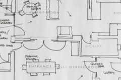 Architektów plany Obrazy Stock