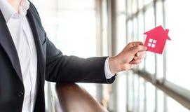 Architekt, bankowiec, pośrednik handlu nieruchomościami, agent, biznesmen lub makler, Zdjęcia Stock