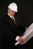 Architekt oder Fremdfirma Stockfoto
