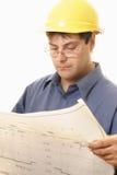 Architekt oder Projektleiter Stockfotos