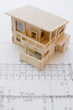 architekt planuje rolki Zdjęcia Stock