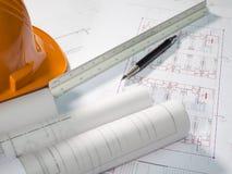 Architekta plan 7 Zdjęcie Stock