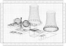 Architekta projekt ilustracja wektor