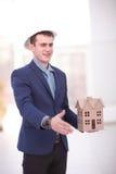 Architekten-Construction Site Planning-Arbeitskonzept Stockfoto