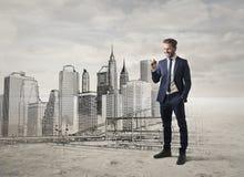 Architektenentwerfen Lizenzfreies Stockfoto