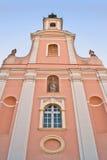 architektoniczna katedra wyszczególnia varazdin obrazy stock