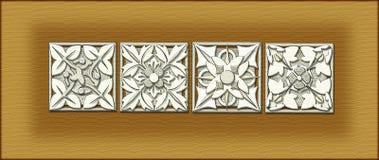 architektoniczna ornamentacji Zdjęcia Royalty Free